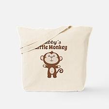 Bubbys Little Monkey Tote Bag