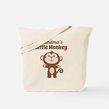 Grandmas Little Monkey Tote Bag