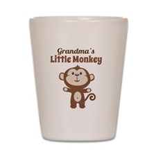 Grandmas Little Monkey Shot Glass