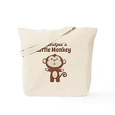 Grandpas Little Monkey Tote Bag