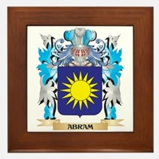 Abram Coat Of Arms Framed Tile