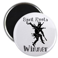 April Fools Winner Magnet