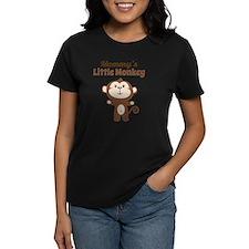 Mommys Little Monkey Tee