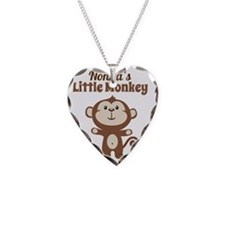 Nonnas Little Monkey Necklace