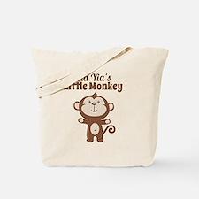 Yia Yias Little Monkey Tote Bag