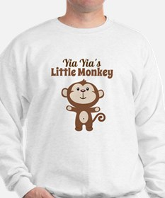 Yia Yias Little Monkey Sweatshirt