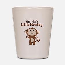 Yia Yias Little Monkey Shot Glass