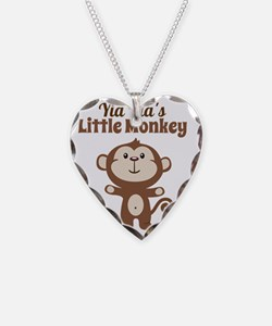 Yia Yias Little Monkey Necklace