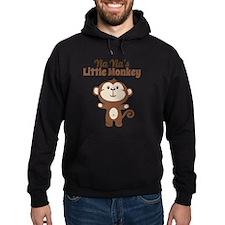 Yia Yias Little Monkey Hoodie