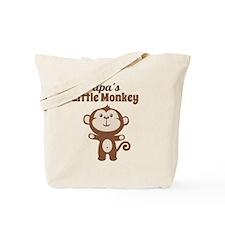 Papas Little Monkey Tote Bag