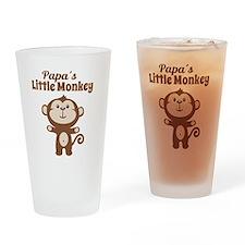Papas Little Monkey Drinking Glass