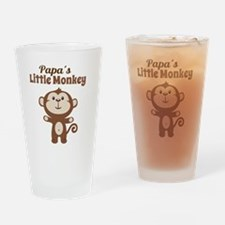 Papas Little Monkey Drinking Glass