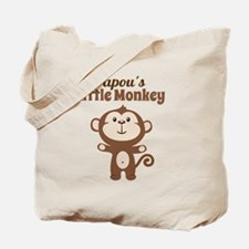 Papous Little Monkey Tote Bag