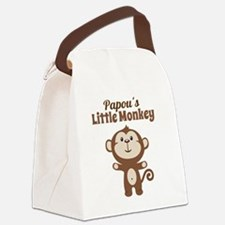 Papous Little Monkey Canvas Lunch Bag