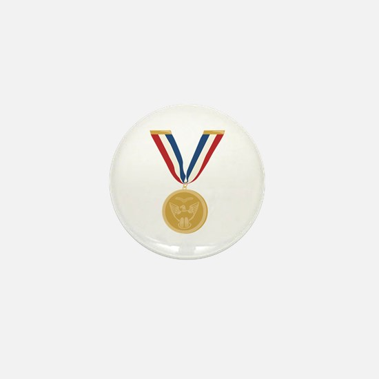 Gold Medal Of Honor Mini Button (100 pack)