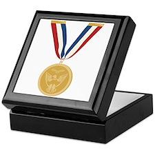 Gold Medal Of Honor Keepsake Box