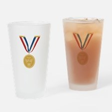 Gold Medal Of Honor Drinking Glass