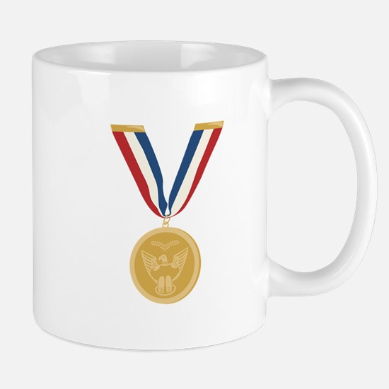 Gold Medal Of Honor Mugs