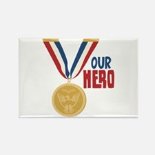 OUR HERO Magnets