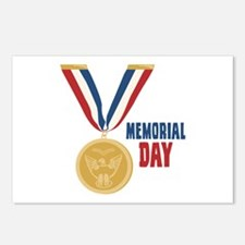 MEMORIAL DAY Postcards (Package of 8)