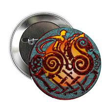 Odin, Odhin, god of the hunt Button