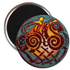 "Odin, Odhin, god of the hunt 2.25"" Magnet (10 pack"
