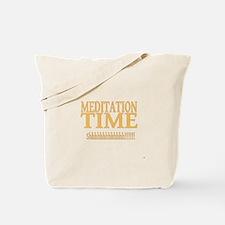 Meditation Time Tote Bag