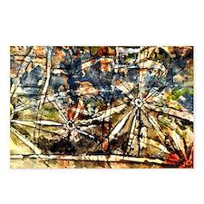 Klee - Street Lamps Postcards (Package of 8)