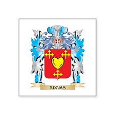 Adams Coat Of Arms Sticker