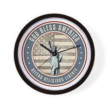 Defend Religious Liberty Wall Clock
