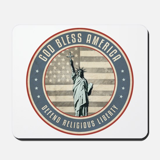 Defend Religious Liberty Mousepad