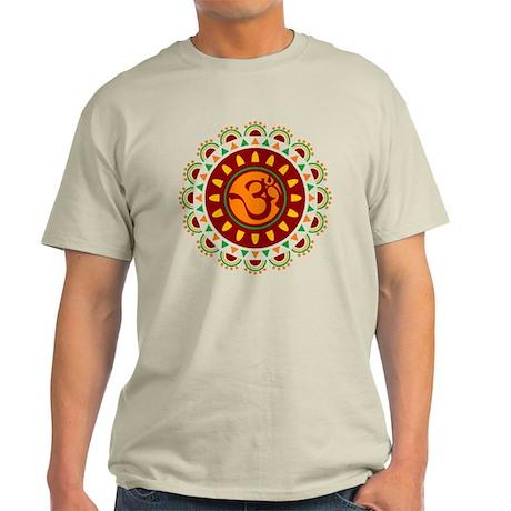 Om Medallion Light T-Shirt