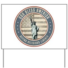 Defend Religious Liberty Yard Sign