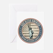 Defend Religious Liberty Greeting Cards