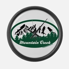Mountain Creek State Park Large Wall Clock