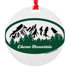 Okemo Mountain State Park Ornament