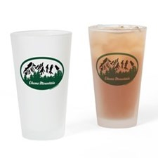 Okemo Mountain State Park Drinking Glass