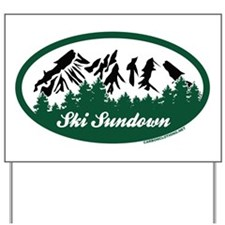 Ski Sundown State Park Yard Sign