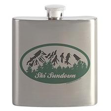 Ski Sundown State Park Flask
