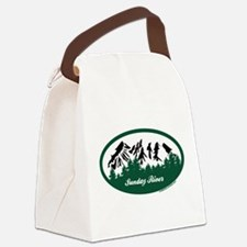 Sunday River State Park Canvas Lunch Bag
