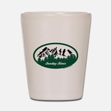 Sunday River State Park Shot Glass