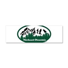Wachusett Mountain State Park Car Magnet 10 x 3