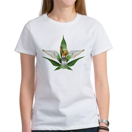 Sativa Goddess! Marijuana! Hemp! Ash Grey T-Shirt