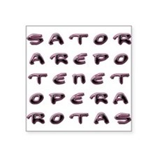 SATOR Square Sticker