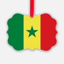 Senegal Flag Ornament