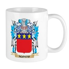 Agosto Coat Of Arms Mugs