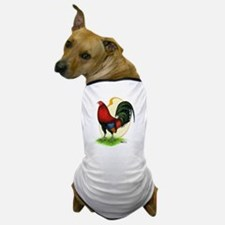 Red Gamecock3 Dog T-Shirt