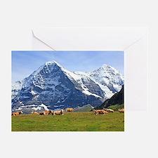 Cute Switzerland Greeting Card