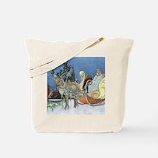 Snow Queen Ice Princess Tote Bag