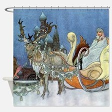 Snow Queen Ice Princess Shower Curtain